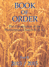 Book of Order cover