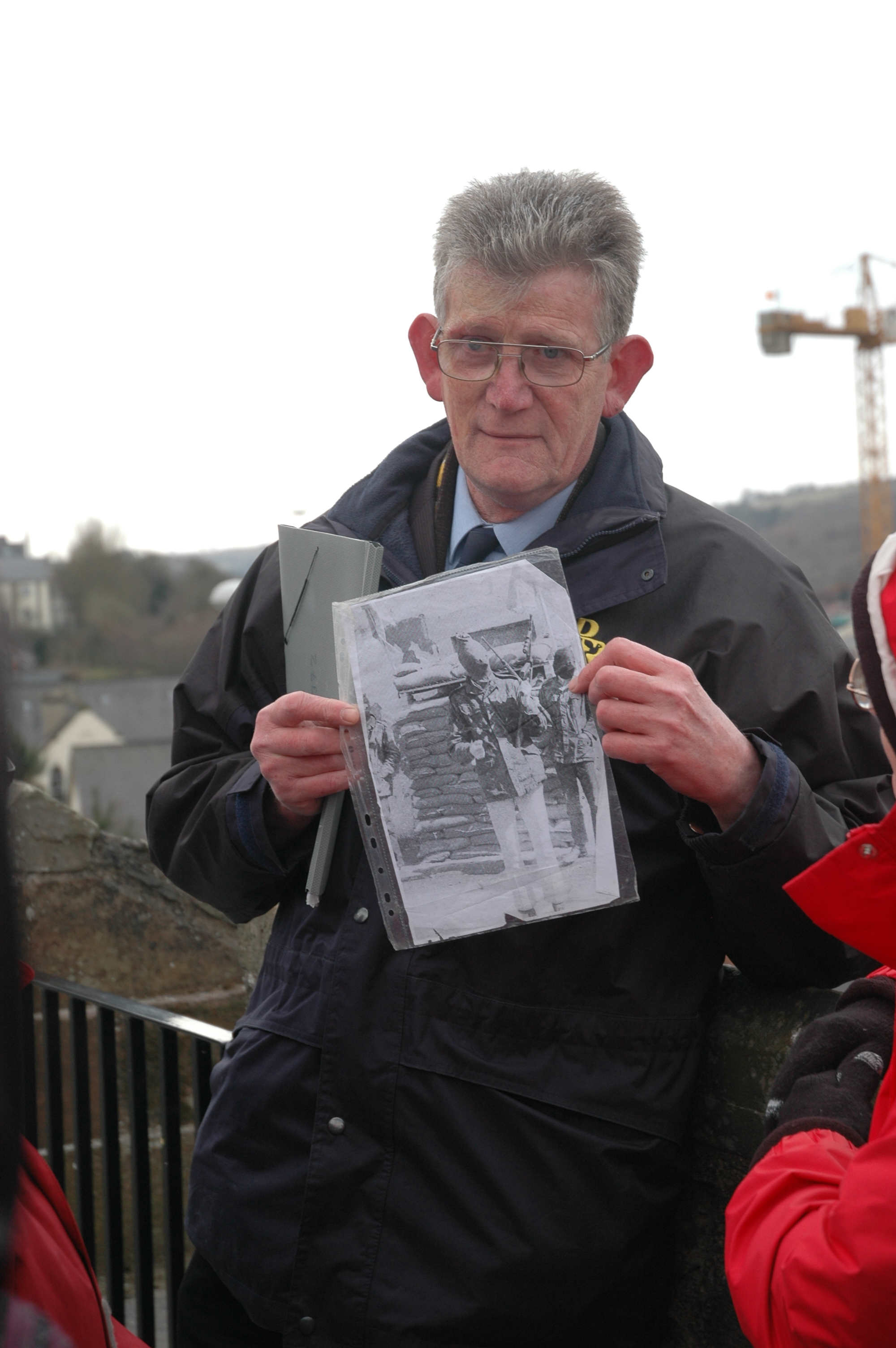 Our tour of Derry/Londonderry included first hand accounts of Bloody Sunday by those working to bring about reconcilation