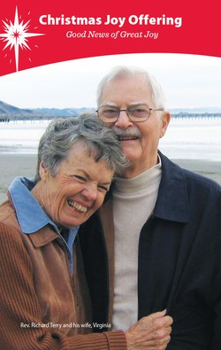 The late Rev. Richard Terry and his wife Virginia