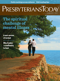 October Presbyterians Today cover