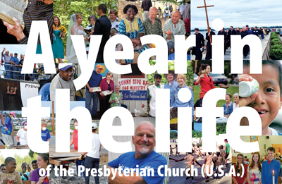 A year in the life of the Presbyterian Church (U.S.A.)