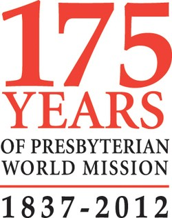 175h anniversary of world mission logo