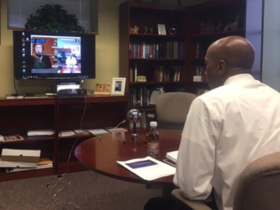 Rev. Dr. J. Herbert Nelson, II, Stated Clerk of the General Assembly of the PC(USA), takes part in Warming Trends, a podcast from the Weather Channel about the role of churches in the climate change debate.
