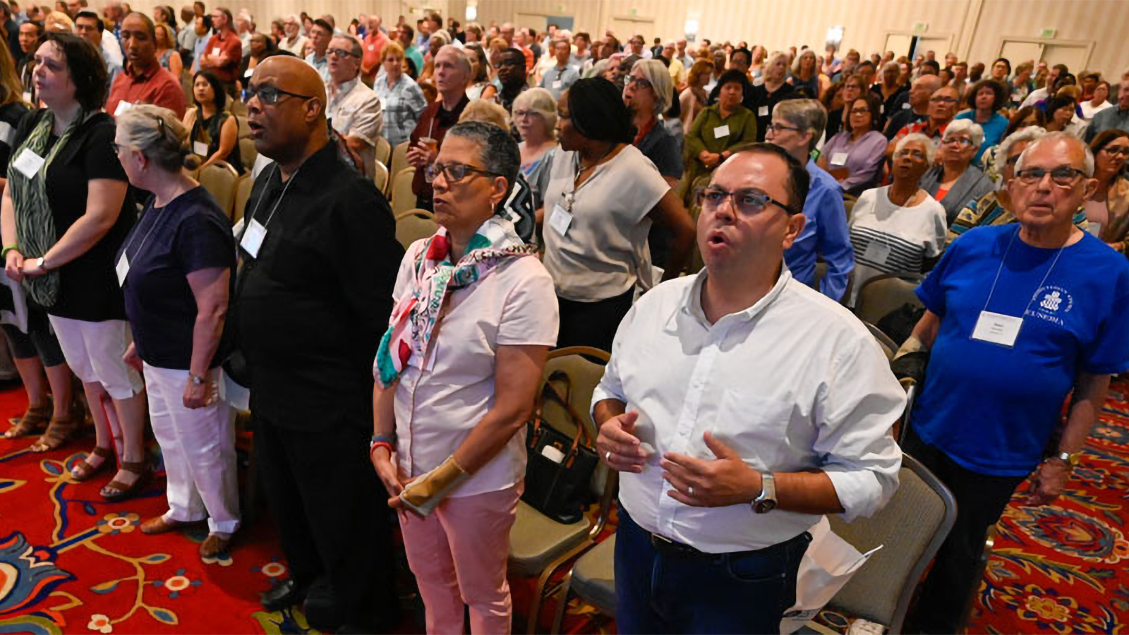 Nearly 800 Presbyterians are gathered in Baltimore through Saturday for Big Tent. (Photo by Rich Copley)