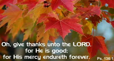 Psalm 136 Give Thanks to the Lord, for he is good