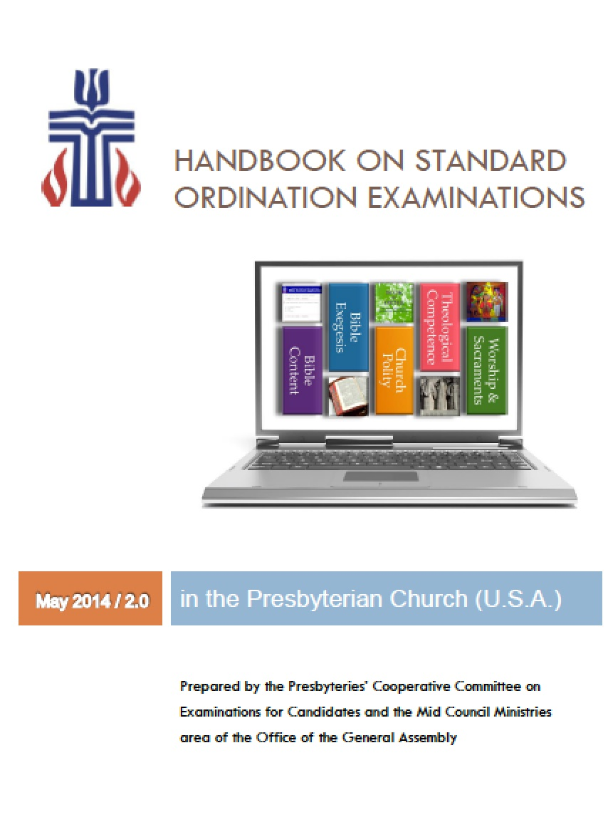 Cover of May 2014 Exams Handbook