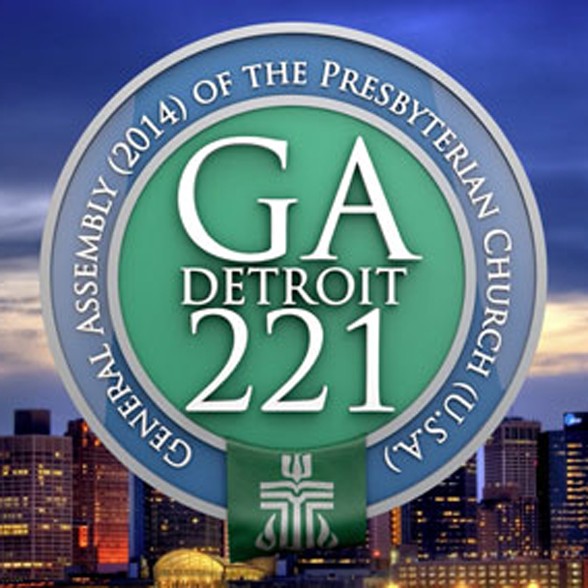 Logo of 221 General Assembly (2014)