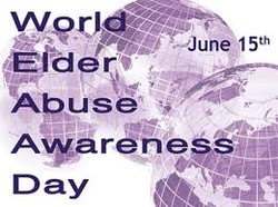 World Elder Abuse Awareness Week logo