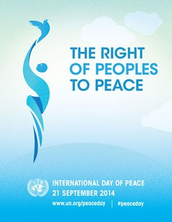 2014 International Day of Peace poster
