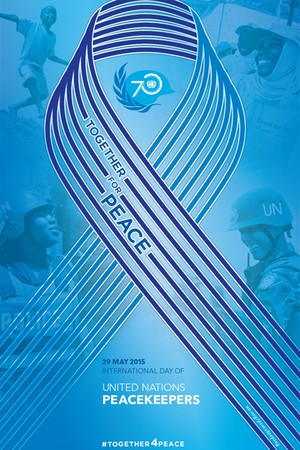 international day of peacekeeping logo