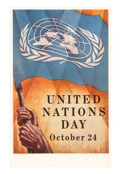 Happy Birthday United Nations Logo