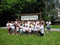 Valley Day campers at Crestfield