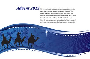 Advent daily calendar 2012 image