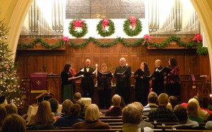 Bardstown Road PC Christmas choir