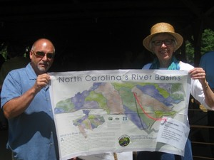 The Church of Reconciliation (NC) Earth Sabbath map of NC