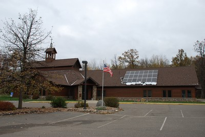 Crosslakes Presbyterian Church photo voltaic system