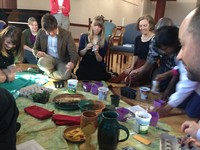 Easter and earth day worship at PCUSA