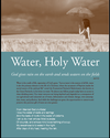 cover of Water, Holy Water, 2014 Earth Day Sunday resource