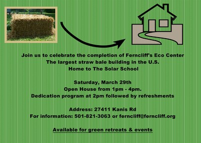 Fencliff Eco-Center dedication invitation