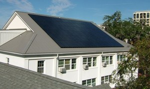 FPC Tallahassee solar panels on church roof