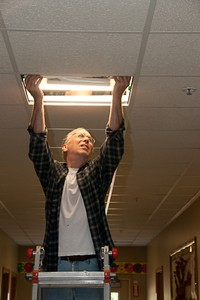 Changing lightbulbs for energy efficiency