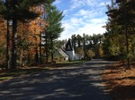 Nashua Presbyterian Church in the woods