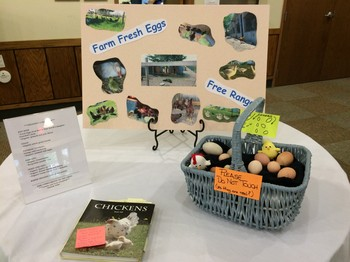 Farm freh eggs from a church member for church breakfast