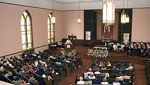 <p>Members and visitors at Capitol Hill Presbytery Church are of all ages, backgrounds and stages of their faith journeys.</p>