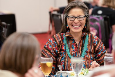 June Lorenzo at the Native American Consulting Committee Dinner at the 223rd General Assembly of the Presbyterian Church (USA) in St. Louis, MO on Tuesday, June 19, 2018.