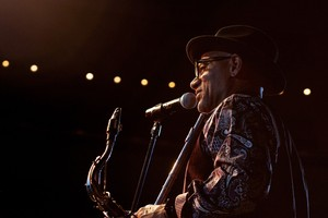 Kirk Whalum performs at the Hands and Feet celebration concert
