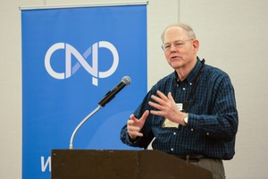 Cliff Kirkpatrick speaks at Covenant Network luncheon