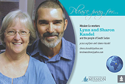 Lynn and Sharon Kandel Prayer Card