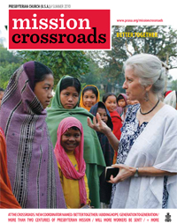 Mission Crossroad magazine, Summer 2010 cover