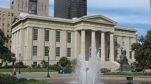 Jefferson County Courthouse in Louisville, Kentucky.