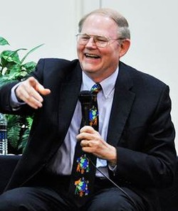 Clifton Kirkpatrick, Professor of World Christianity and Ecumenical Studies, Louisville Presbyterian Theological Seminary, and former stated clerk of the General Assembly.