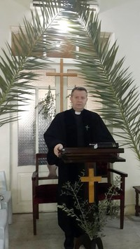 Pastor I. of the Presbyterian Church in Aleppo.