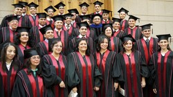 Graduates of the Evangelical Theological Seminary in Cairo, Egypt