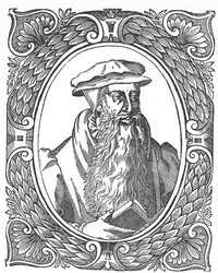 Graphic rendering of John Knox
