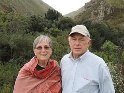 Gwen and John Haspels