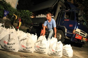 NCCP organizes supplies for those in need in the Philippines