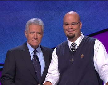 "The Rev. Collin Adams, pastor of Pollocksville (N.C.) Presbyterian Church, will appear on ""Jeopardy"" Sept. 23."