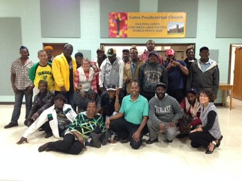 Gates Presbyterian Church in Rochester, N.Y., hosted a community dinner with Jamaican farmworkers last November.