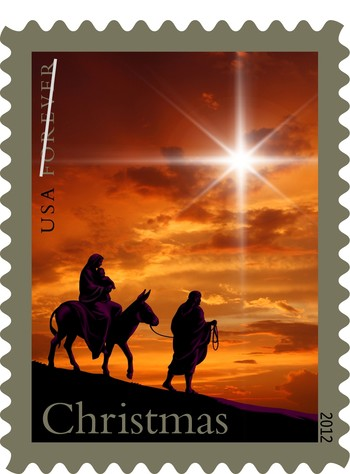 the Holy Family Forever stamp