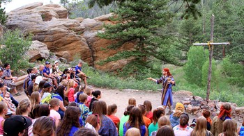 Highlands Sky Ranch Campers shared summer camp