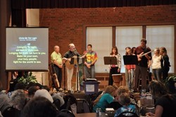 First Presbyterian, Morgantown NC hosted a Jacob's Join last fall to highlight hunger awareness.