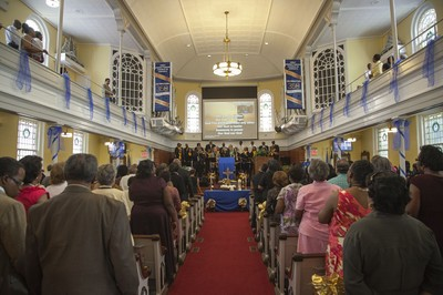 Worship at Jamaica, Queens