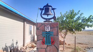 Church bell at Leupp