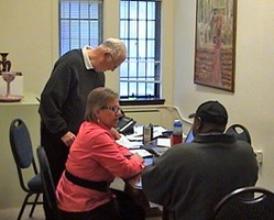 Members of Westminster Presbyterian Church meet with those who need help obtaining identification for work, school, healthcare, and more.