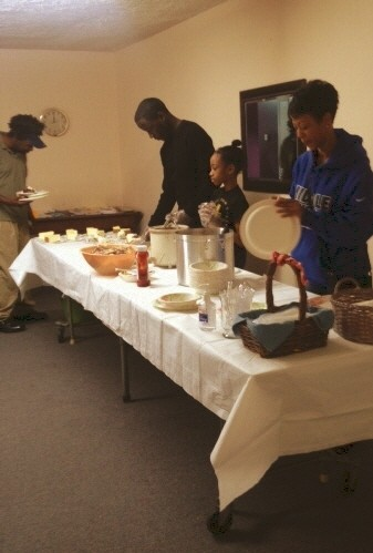 Chili Saturday at Grace Presbyterian Church.