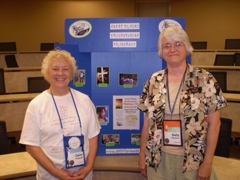 Carol Rudesill and Sally Carlson